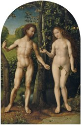 aa Gossaert_Thyssen_Adam_and_Eve
